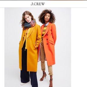 Jcrew NWT ITALIAN WOOL daphne top coat 0p /2p